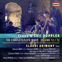 Franz (1821-1883) & Carl (1825-1900) Doppler: Kammermusik mit Flöte Vol.12, CD