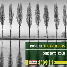 Music of the Bach Sons, CD