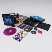 Muse: Simulation Theory Film Deluxe Box Set (Limited Edition) (Pink/Blue Marbled Vinyl), 1 LP, 1 Blu-ray Audio und 1 MC