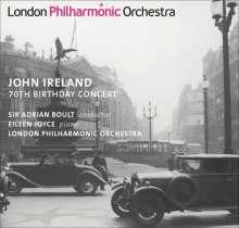 John Ireland (1879-1962): John Ireland - 70th Birthday Concert, CD
