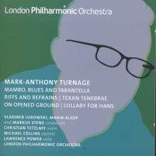 "Mark-Anthony Turnage (geb. 1960): Violakonzert ""On Opened Ground"", CD"