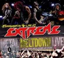 Extreme: Pornograffitti Live 25: Metal Meltdown, 1 CD, 1 DVD und 1 Blu-ray Disc