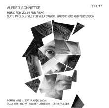 Alfred Schnittke (1934-1998): Werke für Violine & Klavier, 2 CDs
