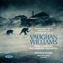 Ralph Vaughan Williams (1872-1958): Symphonien Nr.7 & 9, CD