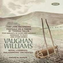 Ralph Vaughan Williams (1872-1958): Fantasia on a Theme by Tallis, CD