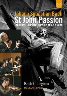 Johann Sebastian Bach (1685-1750): Johannes-Passion BWV 245, DVD