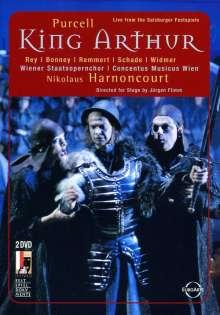 Henry Purcell (1659-1695): King Arthur, 2 DVDs