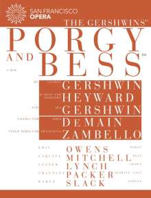 George Gershwin (1898-1937): Porgy and Bess, 2 DVDs