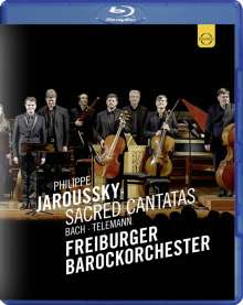 Philippe Jaroussky - Sacred Cantatas (Bach / Telemann), Blu-ray Disc