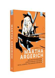 Martha Argerich - DVD-Edition, 6 DVDs