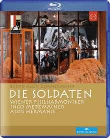 Bernd Alois Zimmermann (1918-1970): Die Soldaten, Blu-ray Disc