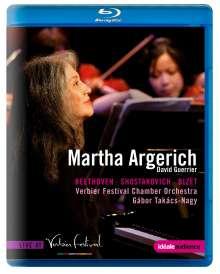 Martha Argerich - Live at Verbier, Blu-ray Disc