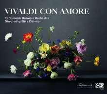 """Antonio Vivaldi (1678-1741): Violinkonzerte RV 271 """"L'amoroso"""" & RV 761 """"Amato bene"""", CD"""
