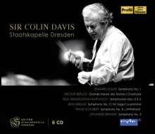 Colin Davis & die Staatskapelle Dresden, 6 CDs