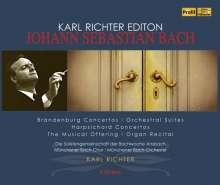 Karl Richter Edition - Johann Sebastian Bach, 6 CDs