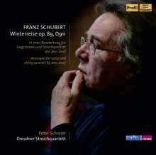 Franz Schubert (1797-1828): Winterreise D.911 (für Tenor & Streichquartett), 2 CDs