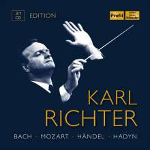 Die Karl Richter Edition (Profil), 31 CDs