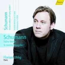 Robert Schumann (1810-1856): Klavierwerke Vol.12 (Hänssler) - Frühe Werke in zweiter Ausgabe I, CD