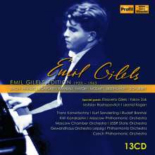 Emil Gilels Edition Vol.1 - 1933-1963, 13 CDs