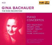 Gina Bachauer - The Rare Recordings, 4 CDs