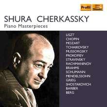 Shura Cherkassky - Piano Masterpieces, 10 CDs