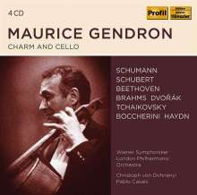 Maurice Gendron - Charm and Cello, 4 CDs