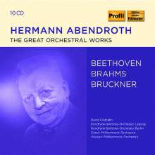 Hermann Abendroth - The Great Orchestral Works, 10 CDs