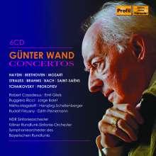 Günter Wand - Concertos, 6 CDs