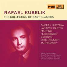 Rafael Kubelik - The Collection of East Classics, 10 CDs
