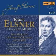 Josef Elsner (1769-1854): Kammermusik, 4 CDs