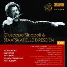 Giuseppe Sinopoli & Staatskapelle Dresden, 5 CDs