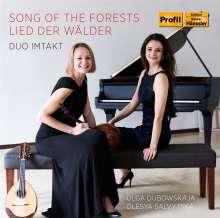 """Musik für Mandoline & Klavier - """"Song of the Forrests"""", CD"""