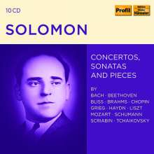 Solomon - Concertos,Sonatas & Pieces, 10 CDs