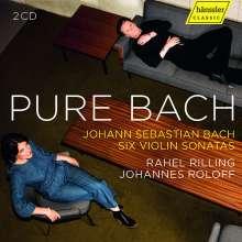 Johann Sebastian Bach (1685-1750): Sonaten für Violine & Cembalo BWV 1014-1019, CD