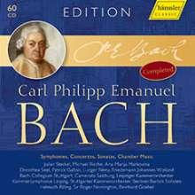 Carl Philipp Emanuel Bach (1714-1788): Carl Philipp Emanuel Bach Edition (Erweiterte Neuauflage 2021), 60 CDs