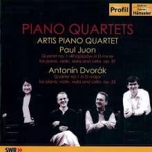 Paul Juon (1872-1940): Klavierquartett op.37, CD