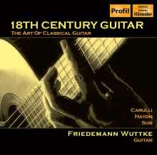 Friedemann Wuttke - 18th Century Guitar, CD