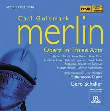 Karl Goldmark (1830-1915): Merlin, 2 CDs