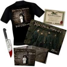 Stahlmann: Kinder der Sehnsucht (Limited-Numbered-Boxset) (+ T-Shirt Gr. XL), 1 CD, 1 T-Shirt und 1 Merchandise