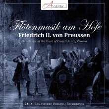 Flötenmusik am Hofe Friedrich II.von Preußen, 2 CDs