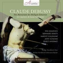 Claude Debussy (1862-1918): Le Martyre de Saint Sebastien, CD