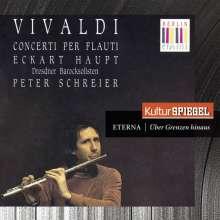 Antonio Vivaldi (1678-1741): Flötenkonzerte RV 104,106,108,428,433,441,443, CD