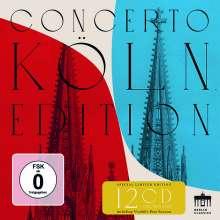 Concerto Köln - Berlin Classics Aufnahmen 2007-2017, 12 CDs und 1 DVD
