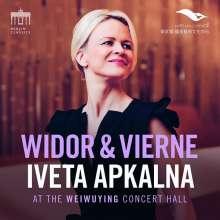 Iveta Apkalna - Widor & Vierne, CD