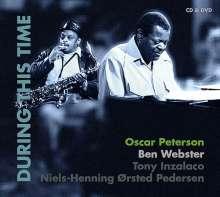 Oscar Peterson & Ben Webster: During This Time: Live Jazzworkshop 1972 (CD + DVD), 1 CD und 1 DVD