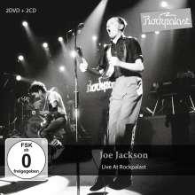 Joe Jackson (geb. 1954): Live At Rockpalast 1980 & 1983, 2 CDs und 2 DVDs