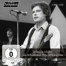 Frankie Miller (Rock): Live At Rockpalast 1976, 1979 & 1982, 3 CDs und 2 DVDs