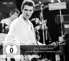 Iain Matthews: Live At Rockpalast: Hamburg 1983, 2 CDs und 1 DVD