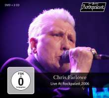 Chris Farlowe: Live At Rockpalast 2006, 2 CDs und 1 DVD