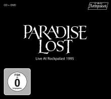 Paradise Lost: Live At Rockpalast 1995, 1 CD und 1 DVD